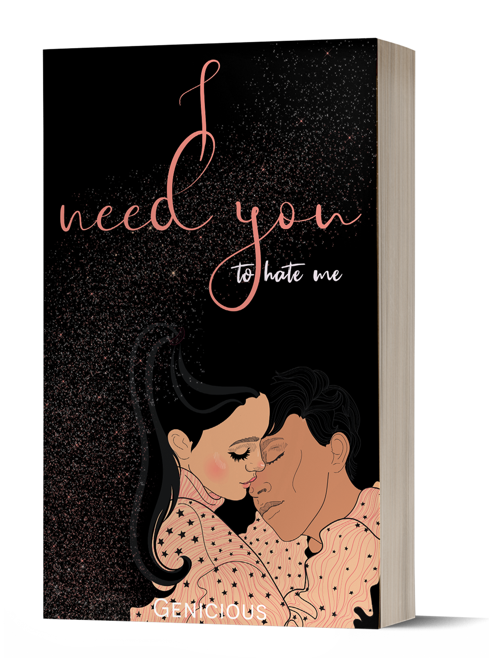 I Need You To Hate Me   Paperback   G. FOX